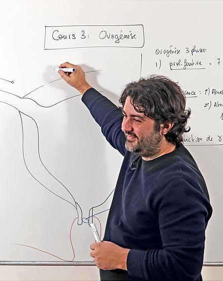 Un professeur d'Antémed